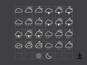 26 free weather icons