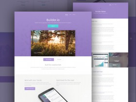 Builder - Free web app template