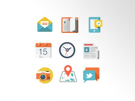 Grap - 9 free coloured icons