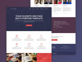 ActiveBox - Free HTML template
