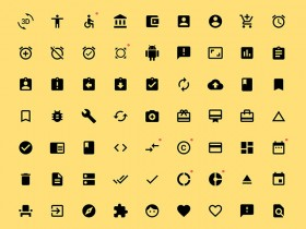 800+ Material icons for Sketch