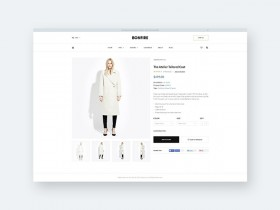 Bonfire: Free ecommerce product page template