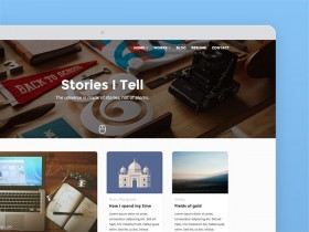 Beetle Go: Free WordPress theme for designers