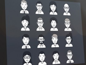 16 Free vector user avatar icons