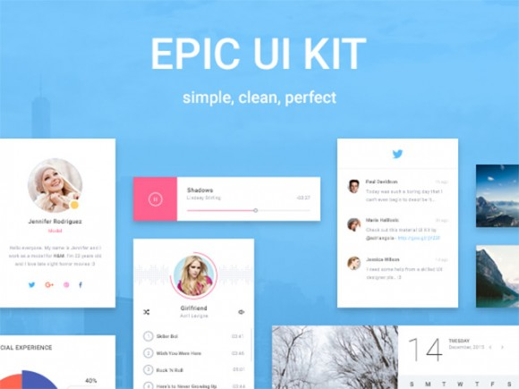 Epic UI: free exclusive sample pack