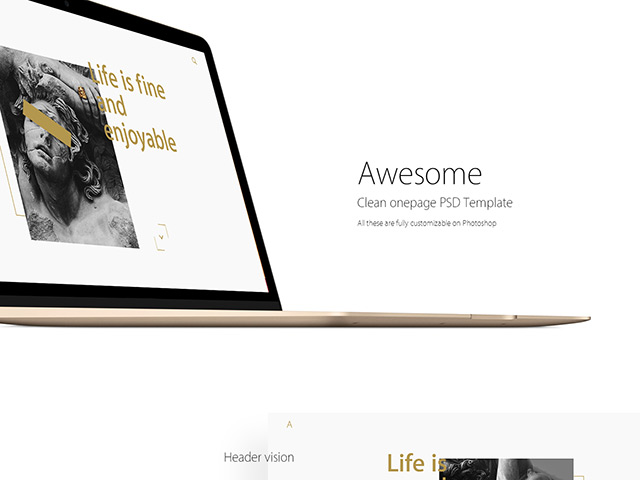 http://cdn.freebiesbug.com/wp-content/uploads/2016/04/clean-onepage-template.jpg