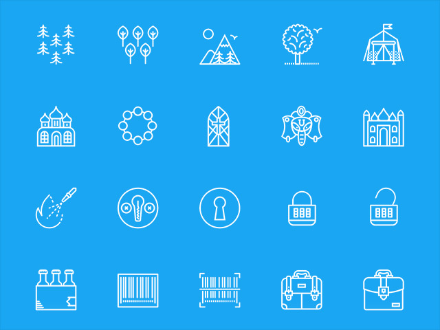 A free set of 200 misc icons by smashicons for Freebiesbug