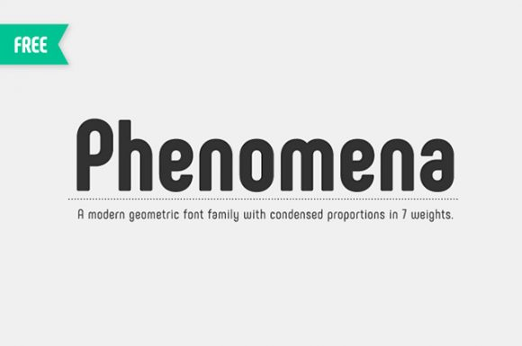 Phenomena font - Preview 01