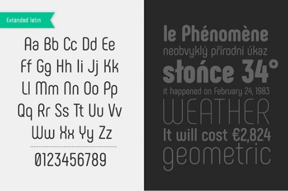 Phenomena font - Preview 02
