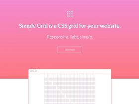 Simple Grid CSS framework