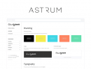 Astrum: Pattern library for web projects