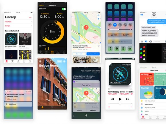 Free iOS 10 UI kit for Sketch