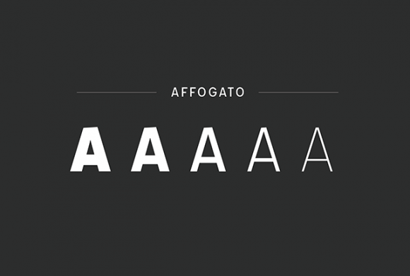 Affogato free font - Preview 02