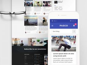 Pasco: A free PSD multipurpose template