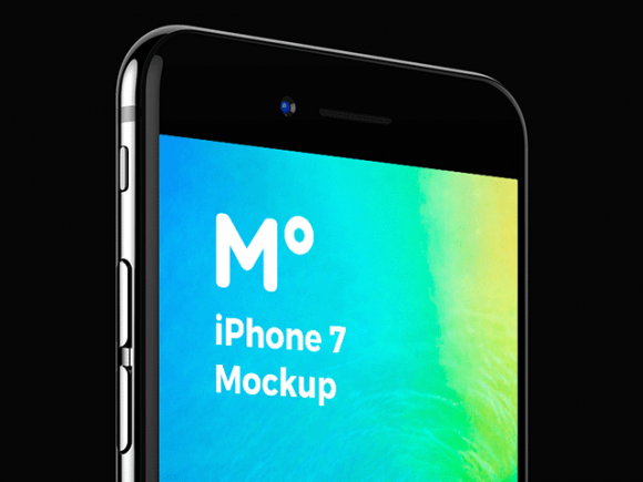 iPhone 7 Jet Black by 360 Mockups