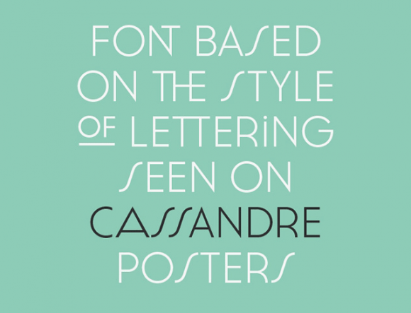 Cassannet Plus Regular: Font preview