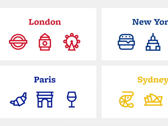 Citysets: A free collection of city-based icons