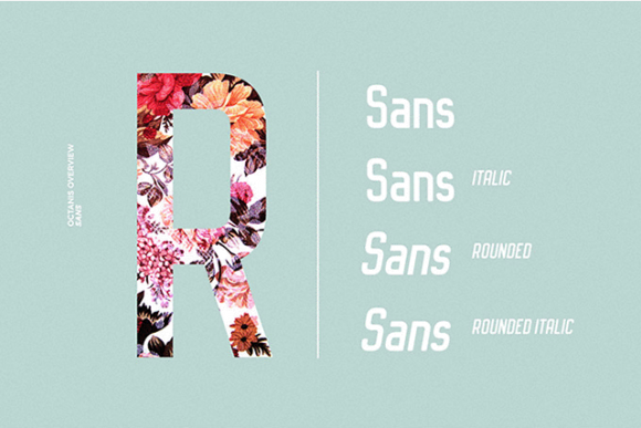 Octanis Sans Preview