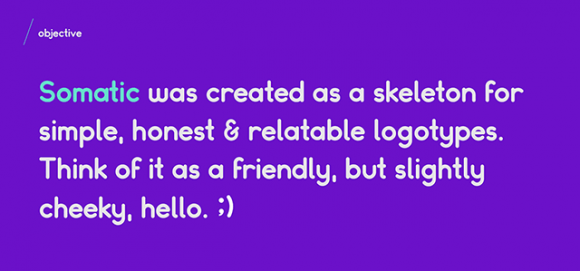 Somatic Rounded Font - Preview 01