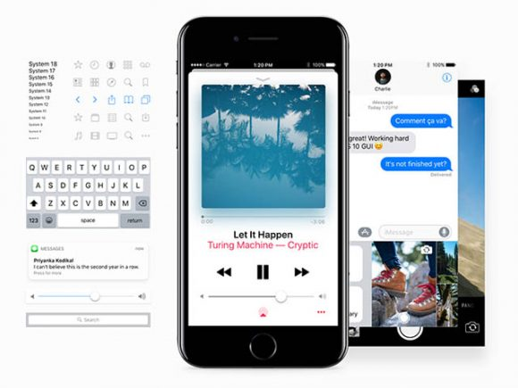 Facebook iOS 10 UI kit