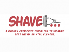 Shave: A JS plugin to truncate multiline text