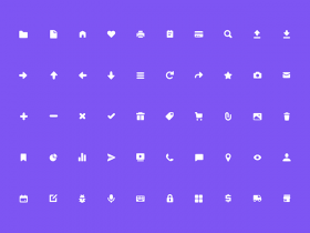 50 Free solid icons by Marvel