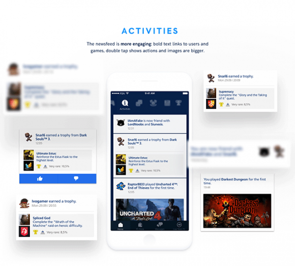 Playstation app redesign - Preview 03