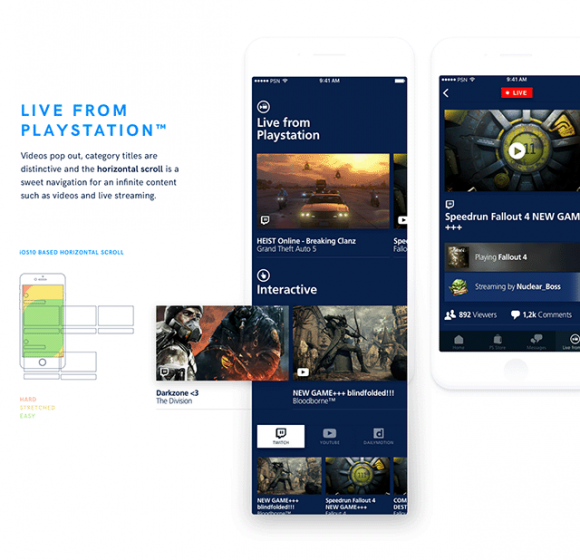 Playstation app redesign - Preview 04