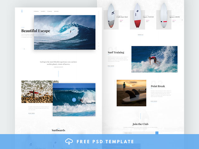 http://cdn.freebiesbug.com/wp-content/uploads/2016/11/surfing-website-template-featured.jpg