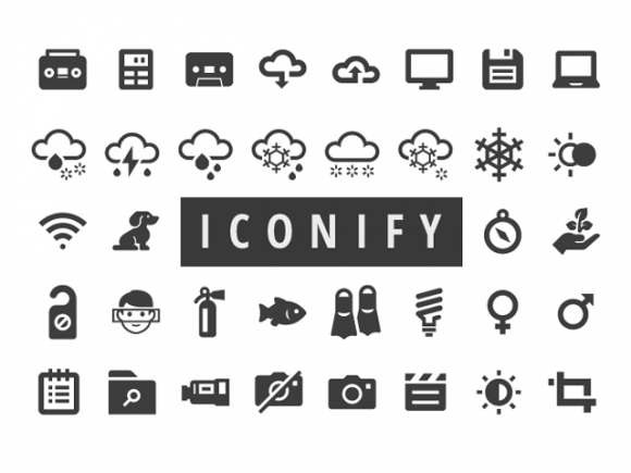 Iconify: 650+ free icons for Web and Apps