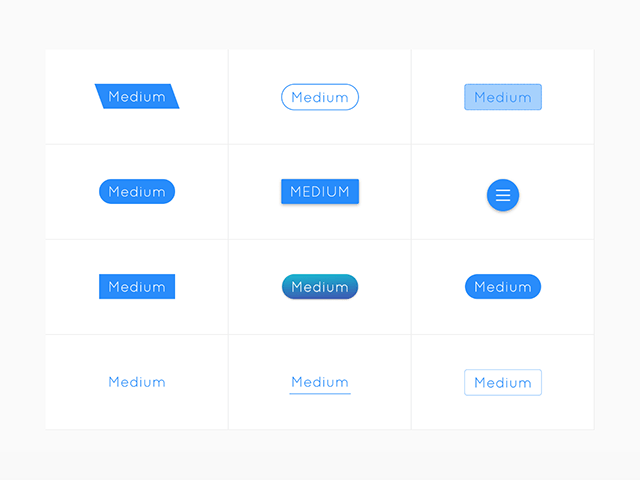 bttn.css - A set of ready-coded CSS buttons