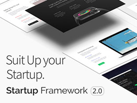 Create a beautiful website in under 60 minutes for your Startup.