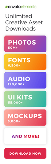 Envato Elements - Unlimited downloads