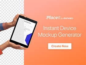 Create mockups in seconds, no photoshop needed.