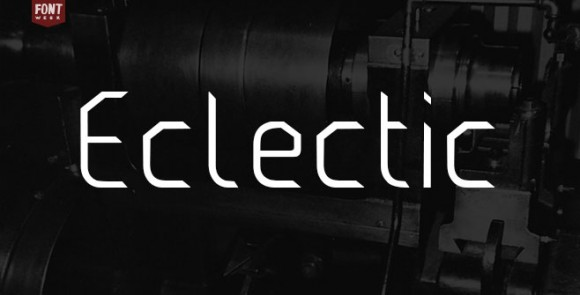 Electric free font