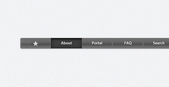 Apple navifation bar free PSD