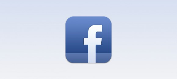 Facebook psd icon