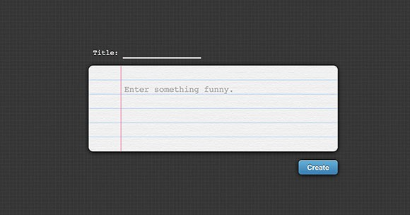 Fun textbox CSS snippet