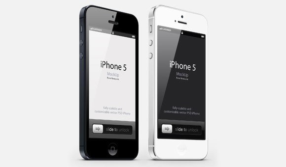 iPhone 3/4 mockup free PSD
