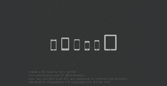 Mobile devices free icons
