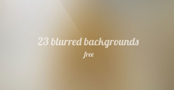 23 free blurred backgrounds PSD