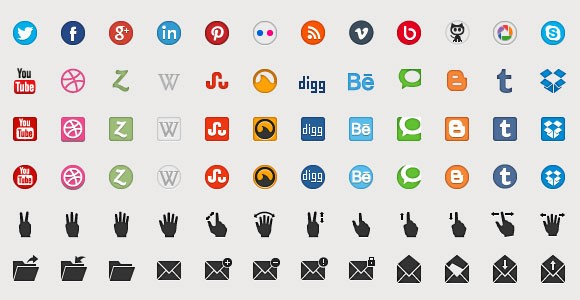 Beautiful free icons