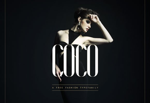 Coco - Fashion typefamily free font - Freebiesbug