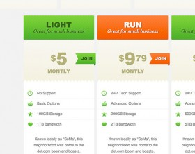 CSS3 pricing tables tutorial
