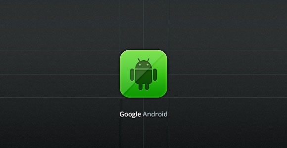Google Android PSD icon