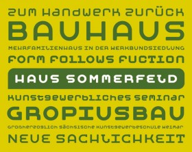 Moby free font