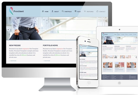 Proximet free HTML5 /CSS3 Template