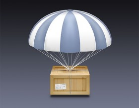 Airdrop icon PSD