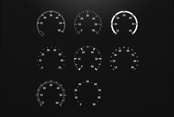 Speedometers PSD
