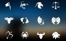 Zodiac signs PSD icons